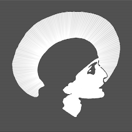 LOGO, HEAD WITH HAT